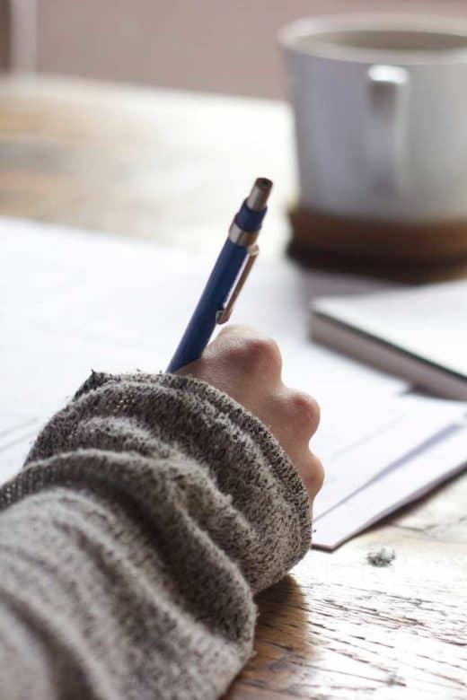 Skrive tekster